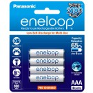 4 x Eneloop Ni–MH Rechargeable AAA Batteries