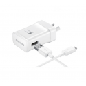 Genuine Samsung AC Fast Charger Wall Charger with Micro USB Cable