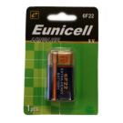 1 x Eunicell PP3 / 6F22 9V Battery