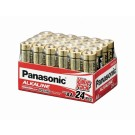 24 x Panasonic Alkaline AA Batteries