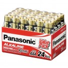 24 x Panasonic Alkaline AAA Batteries