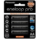 4 x Eneloop Pro Ni–MH Rechargeable AA Batteries