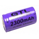 2 x CR123A Rechargeable 16340 Lithium Battery