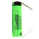 Panasonic NCR18650B 3400mAh Li-Ion Battery (Flat Top) With Tabs
