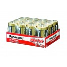 Panasonic D / LR20 Alkaline Battery 12 Pack
